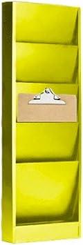 Steel Wall Mounted Clipboard Holder,// Organizer Rack Falcon Model 204 4 Pocket-Ivory