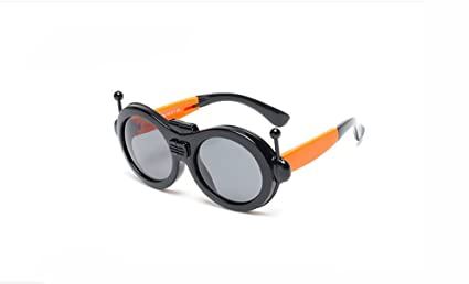 a8b0fe46a4 Cool Robot Shape Sunglasses Foldable Frame Kids Cartoon Glasses for Baby  and Children Age 3-