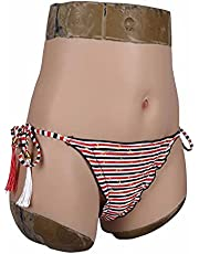 Realistic Vagina Underwear Fake Panties Silicone Boxer Briefs for Crossdresser Transgender Cosplay