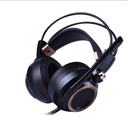 プロフェッショナルゲームゲーミングヘッドセット、ノイズ低減ヘッドフォンヘッドセットコンピューター7.1エフェクトゲームヘッドセット