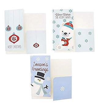 "NEW Christmas Photo Holder Cards /""Merry Christmas/"" Set of 10"