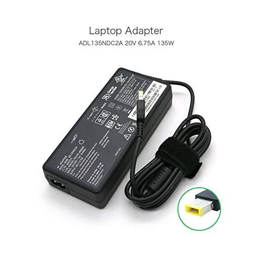 Original Genuine 20V 6.75A Square Tip AC DC Power Cord Adapter for Lenovo ThinkPad Ultra Dock 135W ADL135NLC2A ADL135NDC2A