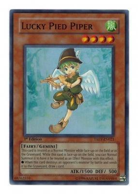 遊戯王 英語版 Lucky Pied Piper (TAEV-EN021) - Tactical Evolution - 1st Edition ... B0028WKVHU