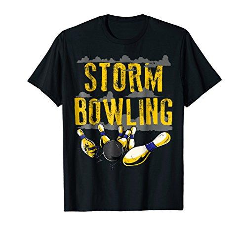 Storm Bowling Funny Matching Bowling Team Shirts