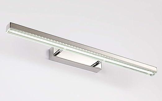HTL Espejo faro- Moderno estilo minimalista Lámpara de acero ...