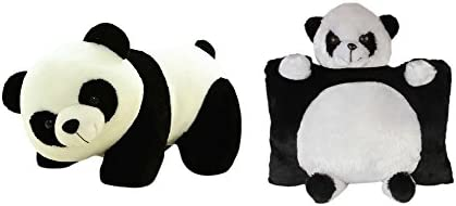Deals India Panda Pillow and Panda Soft Toy