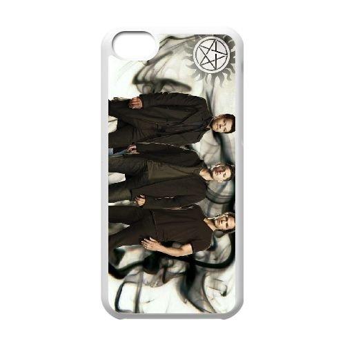 iPhone 5C Phone Case White Supernatural QY7013874