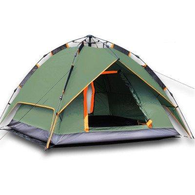 着服アナロジー糸3-4人々テントアウトドアキャンプ自動公園釣り登山防水防水仕様210 * 210 * 135センチメートル