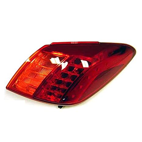 Halogen Tail Light For 2009-2010 Nissan Murano To 10-09 Right Amber//Red w// Bulbs
