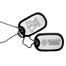 Titanfall Combat Certified Pilot Dog Tags (Electronic Games)