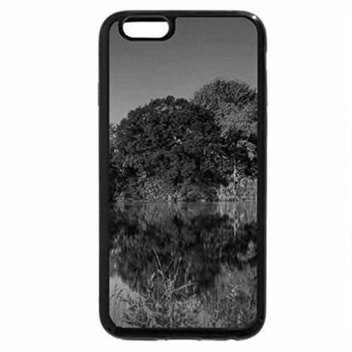 iPhone 6S Plus Case, iPhone 6 Plus Case (Black & White) - Autumn Pond Egan Minnesota