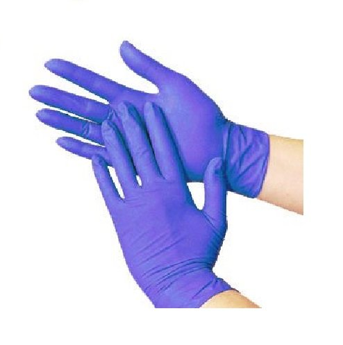 Cornett Nitrile Exam Gloves - Medical Grade, Powder Free, Latex Rubber Free, Disposable, Non Sterile, Food Safe, Textured, Cool Blue Color, Convenient Dispenser. (2000, Large) by Cornett