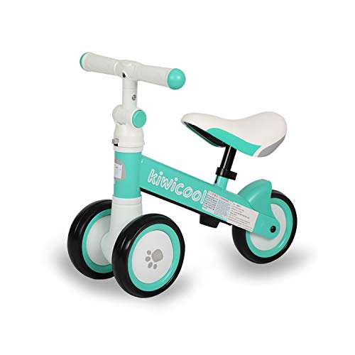 Diroan Baby Balance Bike, Kids Walker Push Bicycle for 1 2 3 Year Old Boys Girls, Toddler Bike Riding Toys for 9 Months – 24 Months First Bike Birthday Gift (Blue)