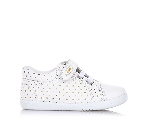 BOBUX - Chaussure I-Walk Trouble blanche en cuir, made in New Zealand, ...