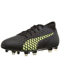 PUMA Unisex-Child Future 18.4 FG/AG Kids Soccer Shoe