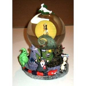 the nightmare before christmas first snow globe snowglobe