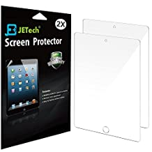 "iPad Pro 9.7 Screen Protector, JETech 2-Pack Screen Protector Film for Apple Apple iPad Pro 9.7"" / iPad Air 2 / iPad Air (First Generation) Hassle Free - Retail Packaging HD Clear - 0330"