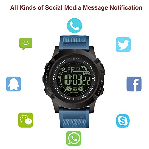 Amazon.com: T0003 - Reloj inteligente deportivo digital con ...