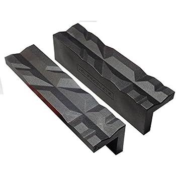 """Multi-Groove magnétique Bench Vice Vise jaw pad pour utilisation avec 4 6 et 8/"""" Etau"""