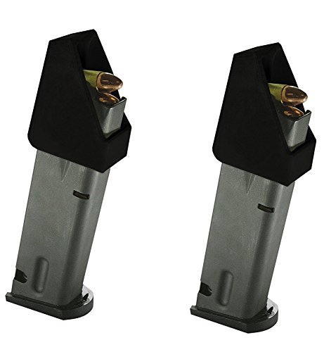 (Pack of 2 DOUBLE STACK Magazine loader for many calibers of Pistol Magazines including 32 auto, 9mm Luger, 22TCM, .357 SIG, .380 ACP, 10mm Auto, .40 S&W, .45GAP .45 ACP (SL2 2 Packs))
