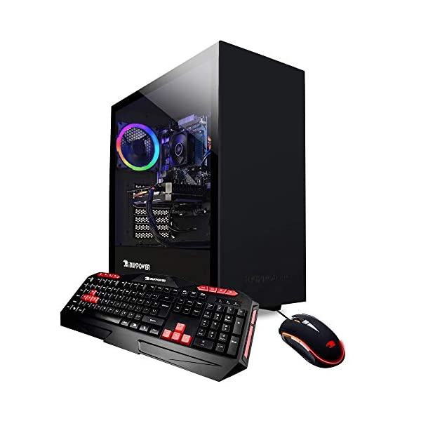 iBUYPOWER Work from Home PC Computer Desktop WFH001 (AMD Ryzen 3 3200G 3.6GHz, 8GB DDR4 RAM, 240GB SSD, WiFi Ready, Windows 10 Home) 1