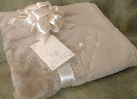 Sympathy Gift Blanket to Send for Funeral Or Memorial When Someone Loses A Loved One I Have You in My Heart Embroidered Plush Throw (In Love With My Best Friend Poem)