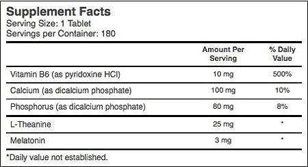 Amazon.com: Pastillas Para Dormir -100% Naturales-sin Receta- Remedio Para El Insomnio: Health & Personal Care