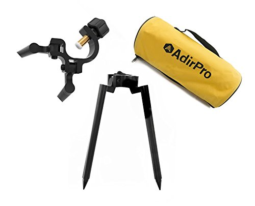AdirPro Mini Prism Bipod 10'' legs Aluminum