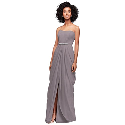 Draped Skirt Swag F19650 Portobello Style Bridesmaid Strapless Dress ygUBcPEE