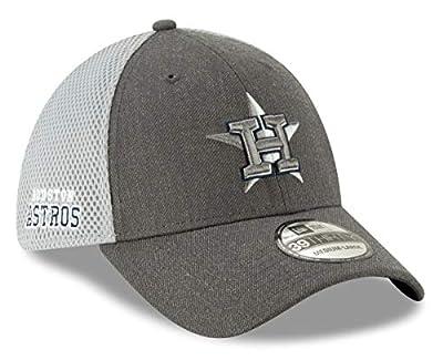 New Era Houston Astros MLB 39THIRTY Heather Front Neo Flex Fit Hat
