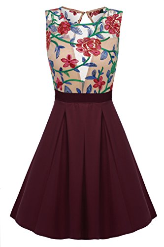 acevog-women-floral-mini-skater-dress-see-through-party-evening-cocktail-dress-l-wr