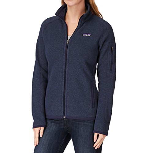 Patagonia W's Better Sweater Jkt Chaqueta, Mujer classic navy