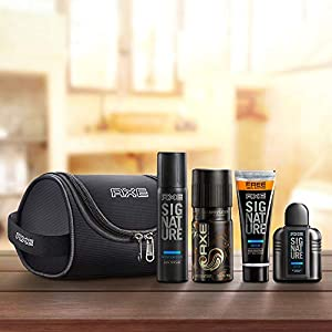 Best Axe Men's Grooming Kit (Travel Bag Free) India