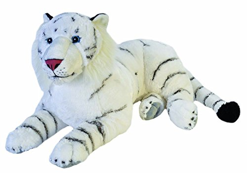 - Wild Republic Jumbo White Tiger Plush, Giant Stuffed Animal, Plush Toy, Gifts for Kids, 30