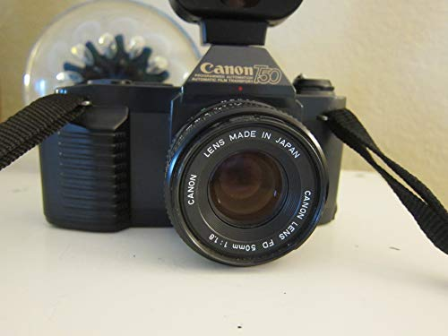 Canon T50 SLR Camera 35mm Kit with Canon FD 50MM 1:1.8 ()