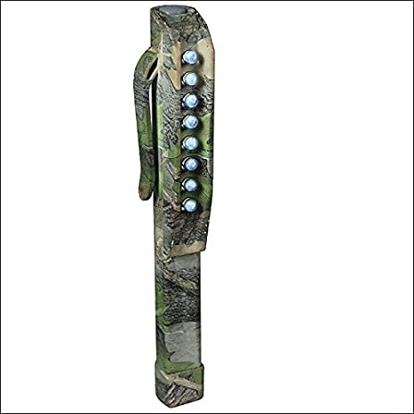 Rivers Edge Home Decor 8 Led Rubber Plastic Shockproof Clip Pen