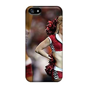 NikRun QqPOO2330cxQVH Case Cover Iphone 5/5s Protective Case Amanda Arizona Cardinals Cheerleaders by icecream design