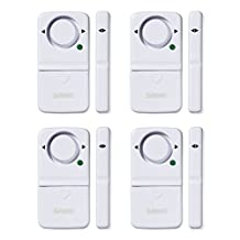 SABRE CHS-DWA4 Wireless Home Security Door Window Burglar Alarm