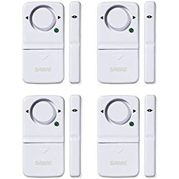 Amazon.com : HENDUN Wireless Remote Door Alarm, Windows Open ...