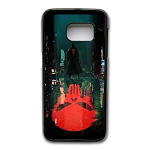 Wunatin Hard Case ,Samsung Galaxy S7 Cell Phone Case Black The Punisher [with Free Tempered Glass Screen Protector]BA--93655