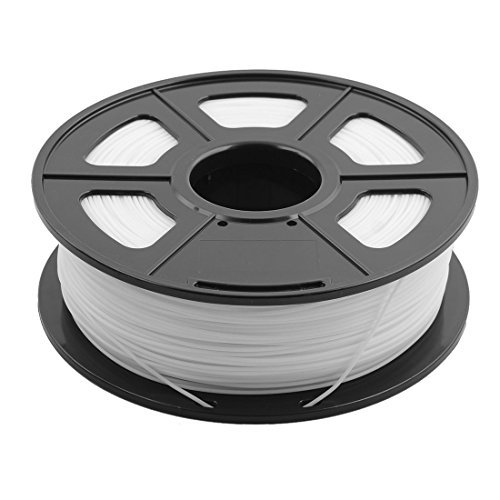 eDealMax PLA 1,75 mm Dimetro del Cable 1 kg Suministros filamento impresora 3D Blanca SUNLU Autorizado