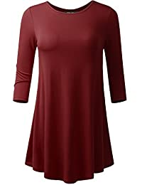 AMORE ALLFY All for You Women's Flare Hem Tunic Made in USA