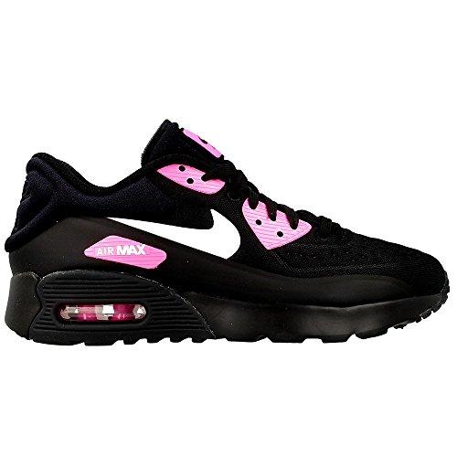 Nike Herren Air Max 90 Ultra Se (Gs) Laufschuhe Schwarz/Pink