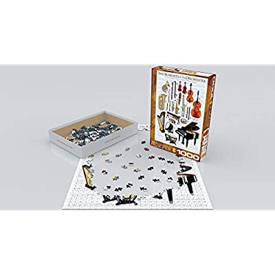 EuroGraphics Instruments of The Orchestra Puzzle (1000-Piece): Toys & Games