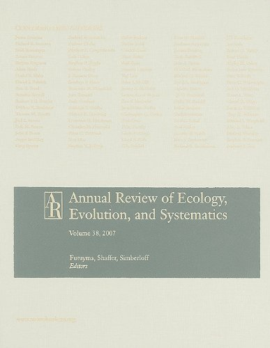 Annual Review of Ecology, Evolution, and Systematics, Volume 38 (Annual Review of Ecology, Evolution & Systematics)