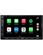 ATOTO F7 Standard 7inch Double Din F7G2A7SE Car Stereo Receiver, Android Auto & CarPlay Connection,AutoLink/Mirrorlink,Fast Phone Charge,Bluetooth,HD LRV(Live Rearview),Support up to 2TB SSD & 512G SD