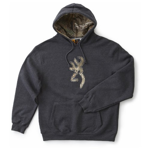 Men's Browning Realtree Camo Buckmark Hooded Sweatshirt