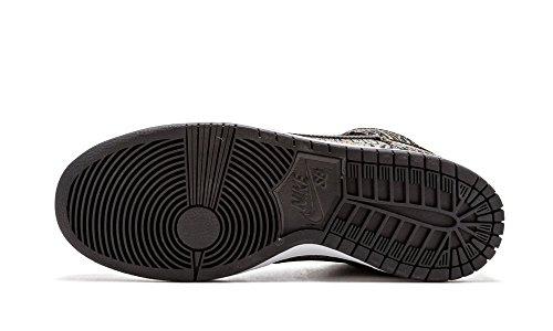 High Shoe Sb Dunk Black White Skate Rainbow 6 nero Black Premium Us bianco TndngOwqf