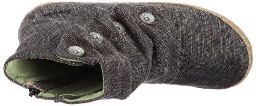 Blowfish Hitman Ankle Boot BF1638SP12 - Botas de lona para mujer Negro (black roughout canvas BF99)