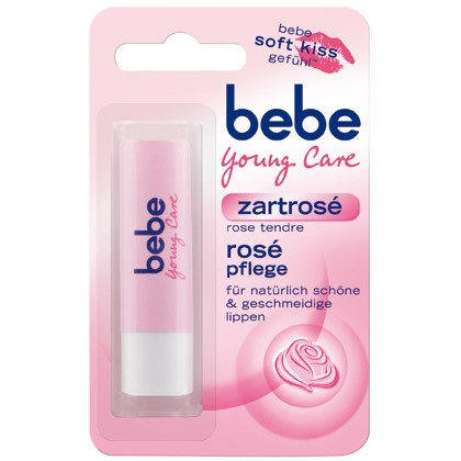 bebe Young Care Lip Balm - Zartrose -Pack of - Bebe Young Care